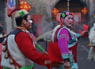 蔚县:红红火火中国年